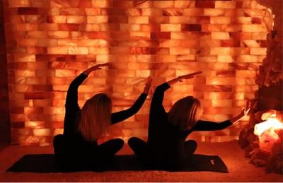 Salt Caves Connecticut | Yoga at Darien Salt Cave