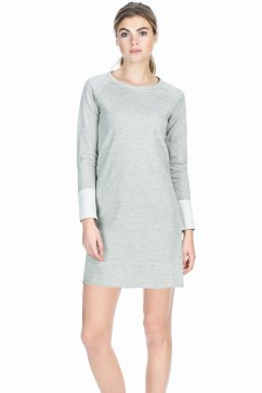 Snow / Grey Reversible Dress.