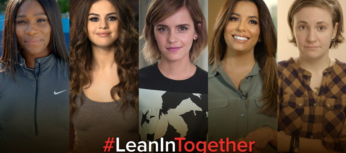 Selena se une junto a Emma Watson y Serena Williams a la fundación 'Lean In Together'