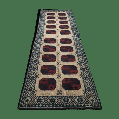 tapis de couloir berbere annee 50 115x345cm