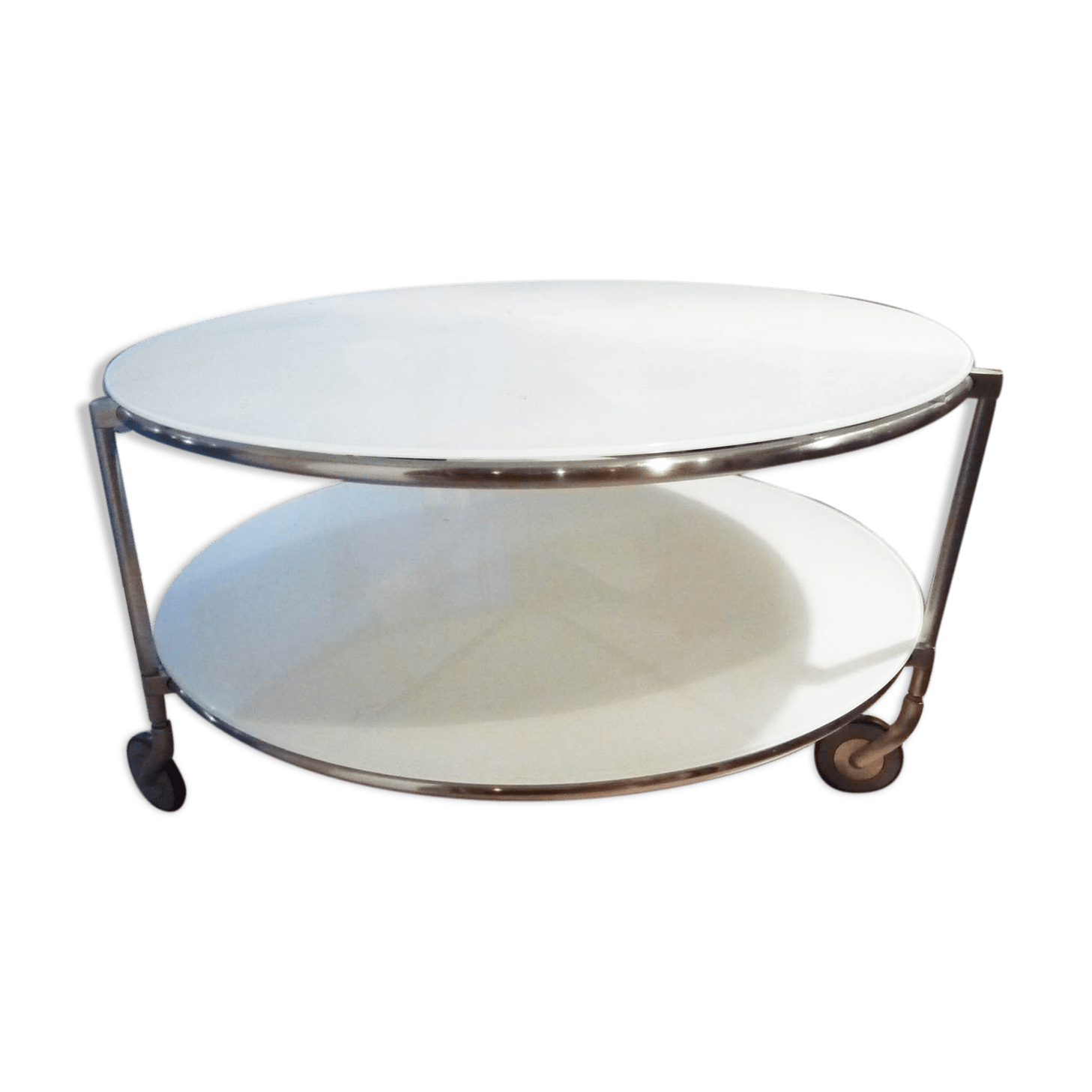 Table Basse Ikea Modèle Strind Métal Blanc Design