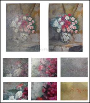 Restauro della tavola e del film pittorico