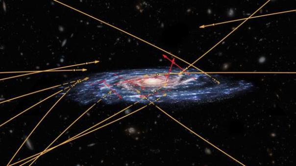 Los astrónomos buscaban estrellas expulsadas de la Vía Láctea por el agujero negro supermasivo que hay en su centro y se encontraron lo contrario