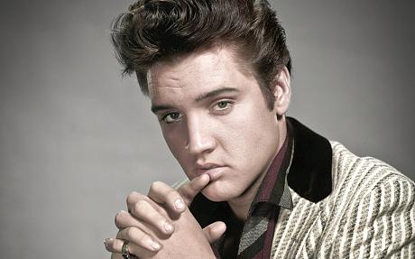 Elvis at the o2 ... 2014 ...Elvis Presley