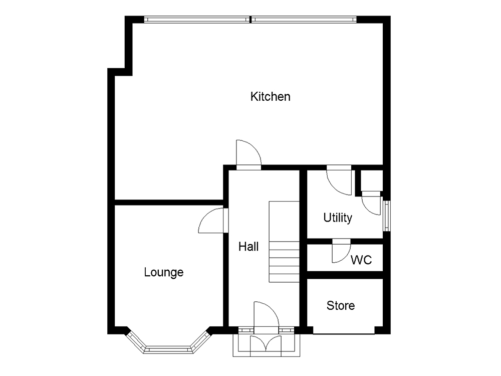 House Plans: 1930s Home Transformed By Modern Extension