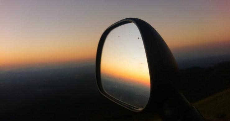 Mirror in the mirror