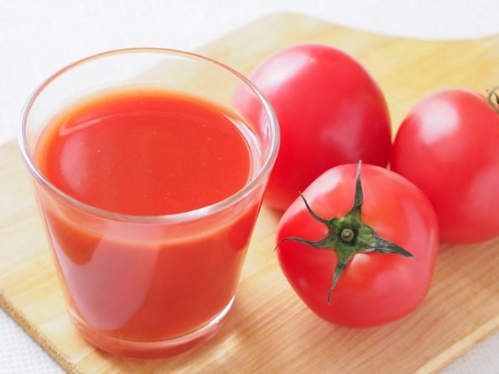 日焼け後に飲むトマトジュースの画像