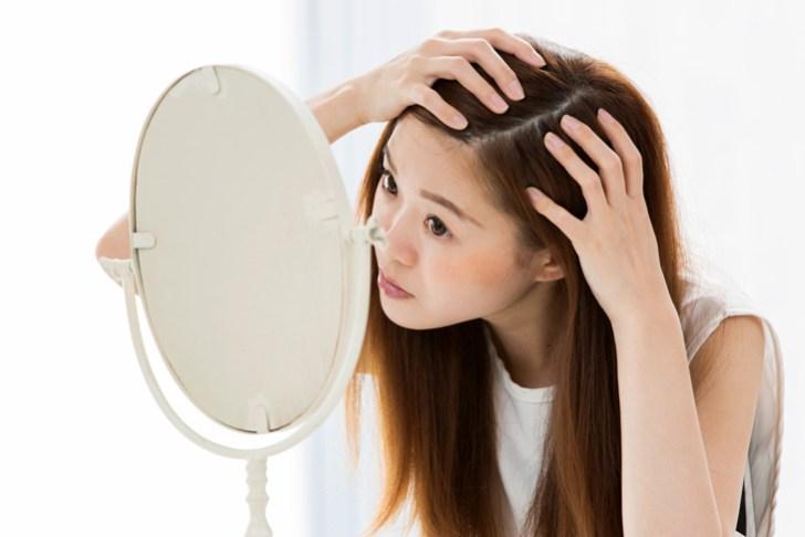 顔の皮膚と頭皮はつながっている説明画像