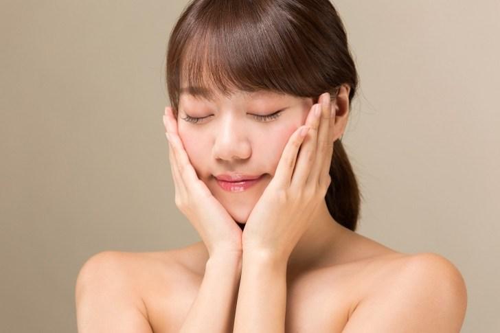 顔の乾燥痛みが改善した女性の画像