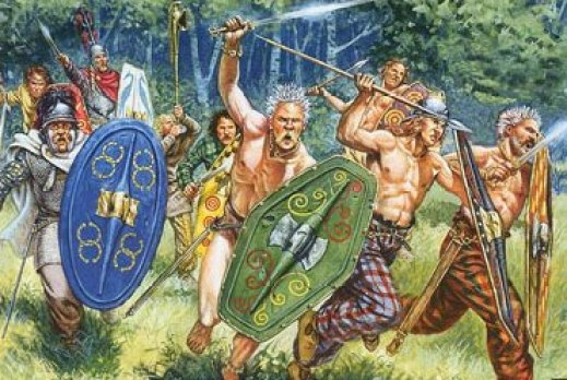 Ancient Physical Descriptions of Britons, Gauls & Celts