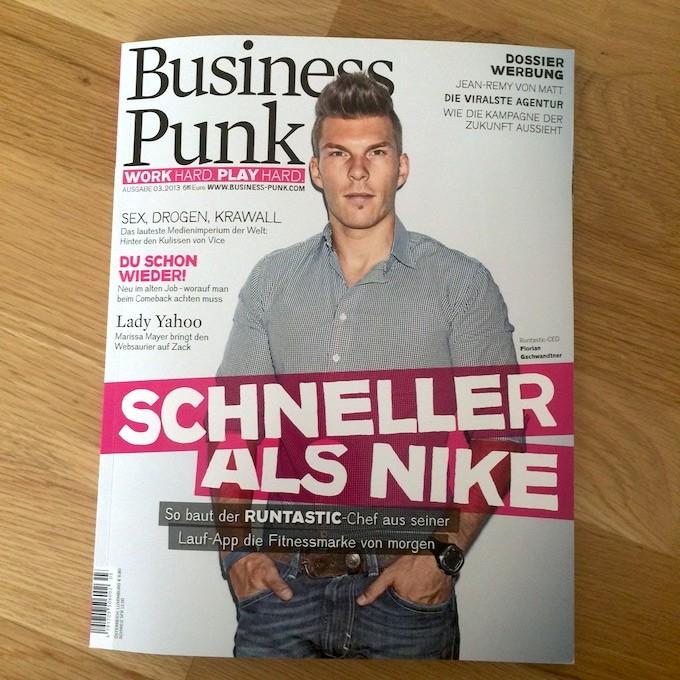 Runtastic Business Punk Florian Gschwandtner