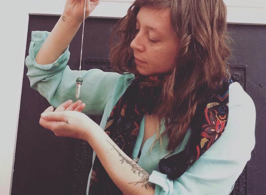 Intuitive Practitioner, Energetic Herbalist, Monitrice, Tarot Reader and Educator Chanelle Bergeron [episode 24]