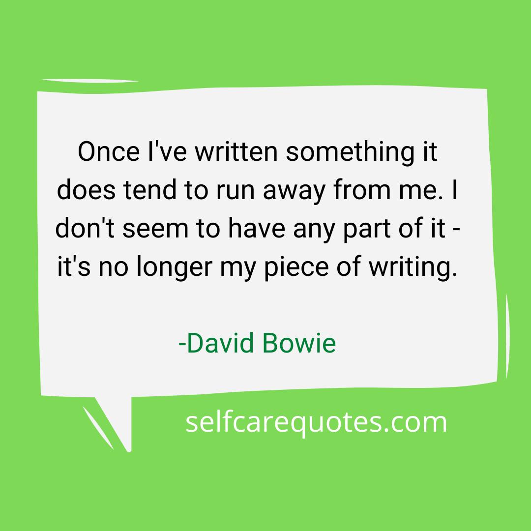 david bowie spider quote