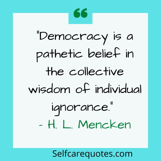 Political Ignorance quotes