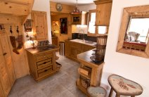 Large chalet kitchen for self catering holiday in the 3 Valleys