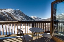 Luxury chalet in St Martin de Belleville with mountain views