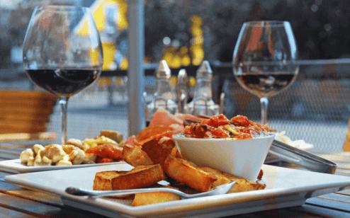 Self Catering Food Wine