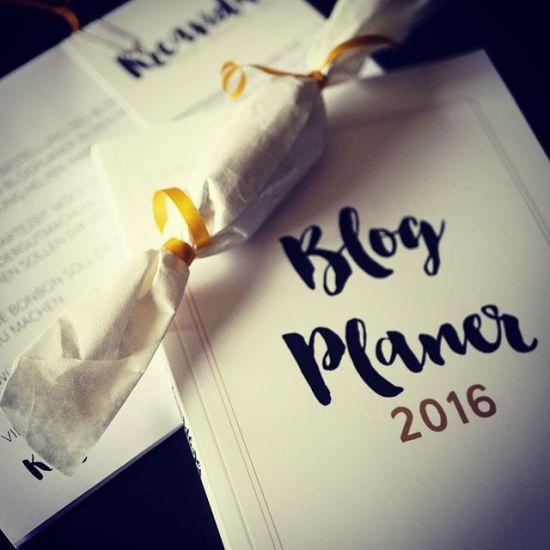 blogplaner 2016 kalender