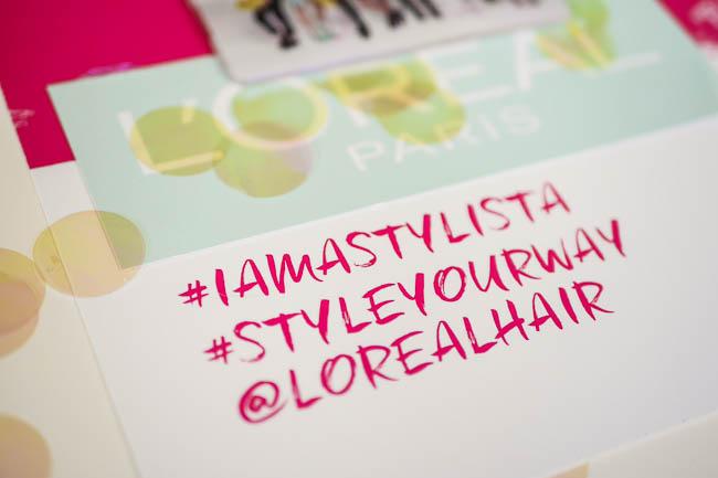 loreal hair stylista blowdry bun weaves braid selfconceptofjay 22