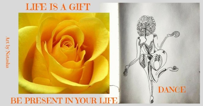 LIFE IS A GIFT BE , (1)