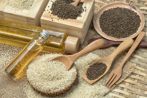 seeds and oil