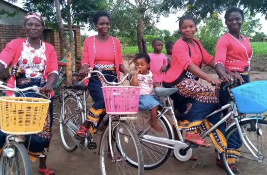 BIKING OUT OF POVERTY