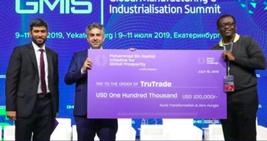 TruTrade Wins Award
