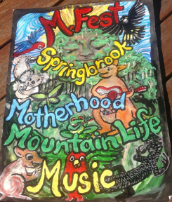 Mfest - Mothers, Music, Mountain, Springbrook Mountain 2017 @ Springbrook State School