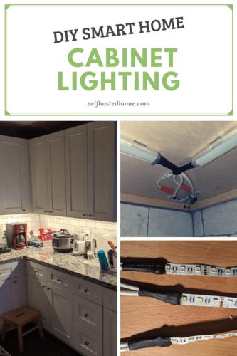 diy smart home cabinet lighting self