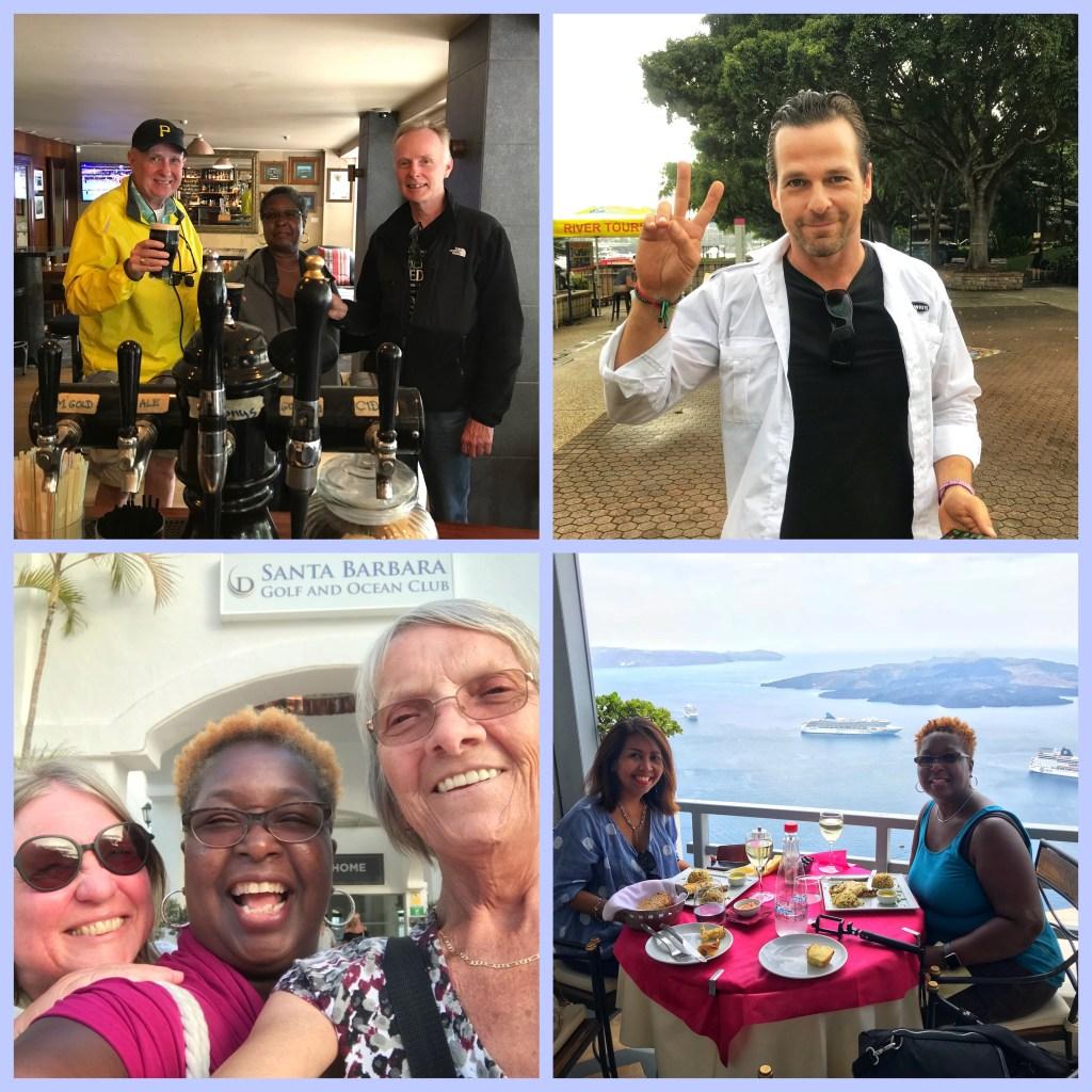 Some of the great friends I've met in 2018 in Queenstown, Brisbane, Tenerife and Santorini