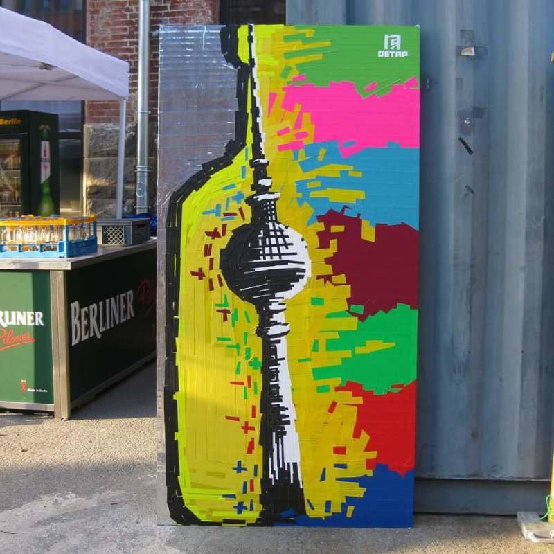 tape-art-project-Absolut-vodka-Ostap-artist
