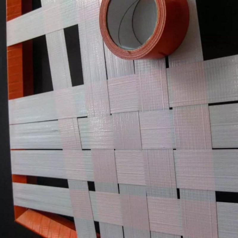 Abstract-constructive-sticky-tape-art-closeup