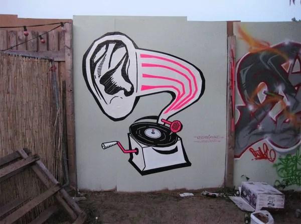 DJ Taub-Gaffa Klebeband-Graffiti- Ostap 2012