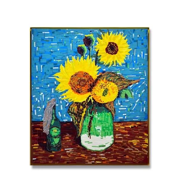 Beitragsbild 2 -Stille Unruhe-Van-Gogh-Ostap-Tape Art-Kunstwerk