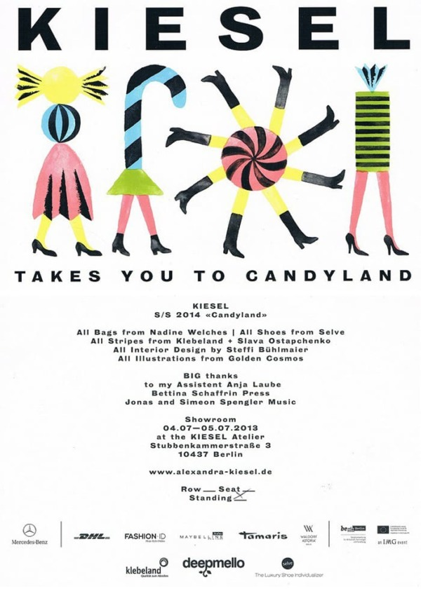 Alexandra kiesel show-flyer-Berlin fashion week 2013