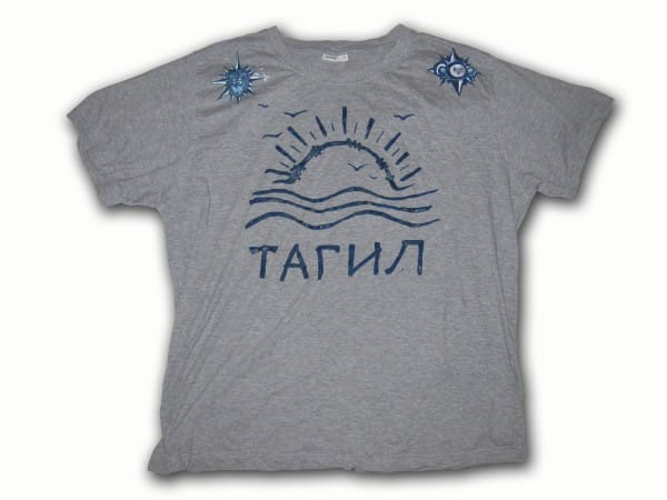 Tagil- Russische Nakolki Tattoo- T-Shirt-Modedesign