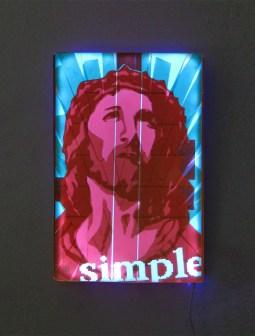 Simply-Pop-Art-Packing-tape-Jesus-Portrait-Ostap-2013