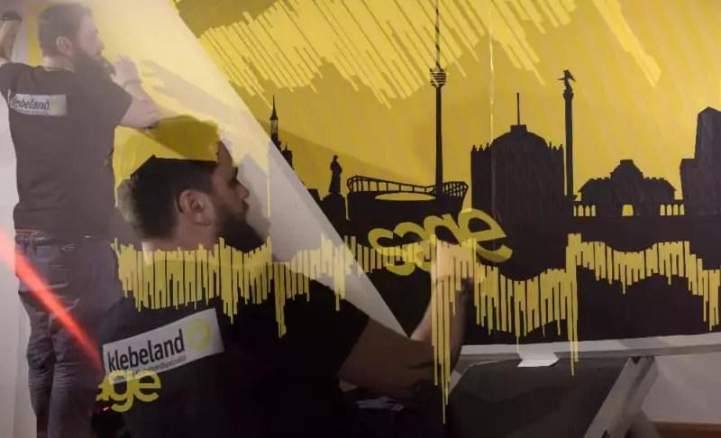 Ostaps Live Tape Art Show- Kollage-Dortmund