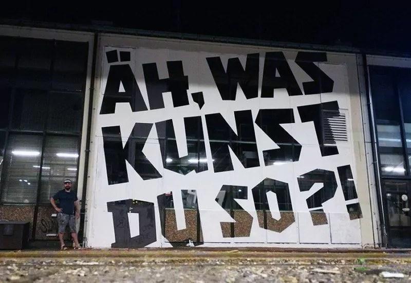Künstler Ostap- Berlin mural fest