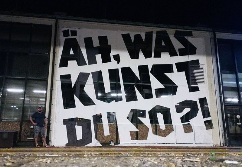 Artist Ostap- Berlin mural fest