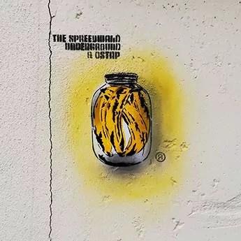 Spree Can (Serie) 2013-2019, Stencil, Spray paint