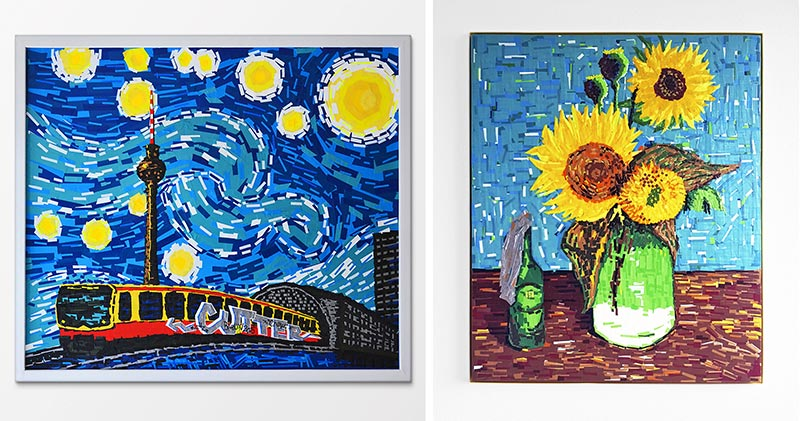 Van Gogh und Ostap Kollab