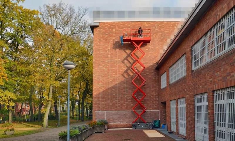Selfmadecrew fängt an zu malen- Ein Mural Kunstwerk im Gefängnis