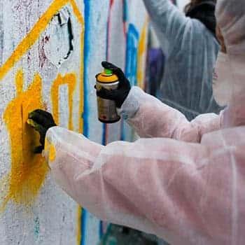 Graffiti Workshop für Kinder und Erwachsene