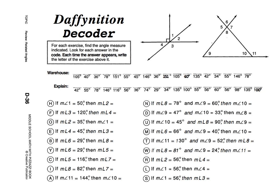 Daffynition Decoder Answers Worksheet Wwwpicswecom