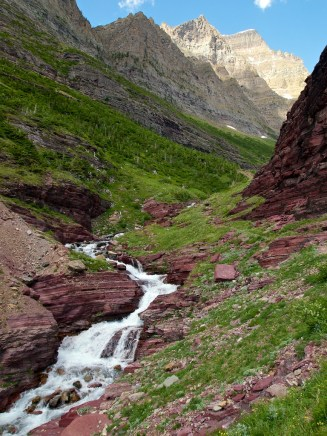 Trail near Sunrift Gorge