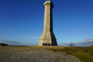 Hardy's Monument between Bridport and Weymouth
