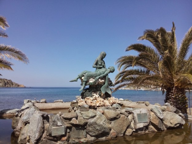 Mermaids abound in Kini, Syros