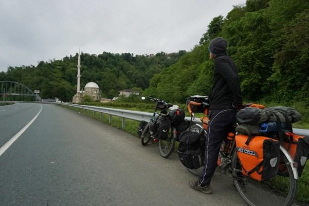 Last few minarets on the Black Sea road to Georgia