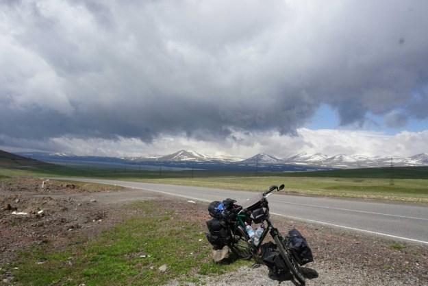 Top of the Paravani Pass